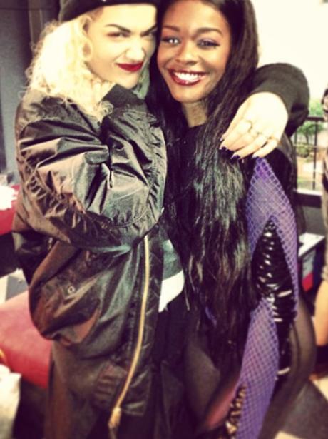 Rita Ora and Azealia Banks together