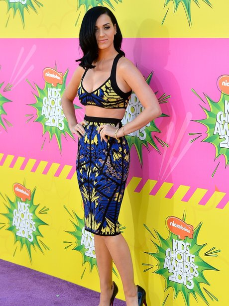 Katy Perry at the Kids Choice Awards 2013