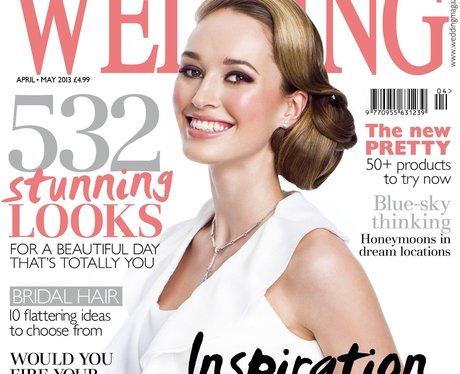 The cover of Wedding magazine