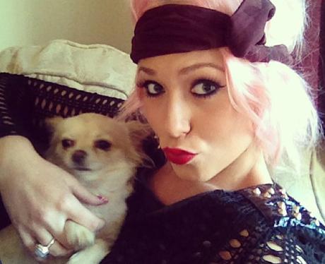 Amelia Lily and Dog