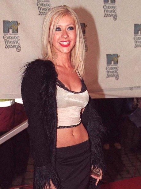 Christina Aguilera Young