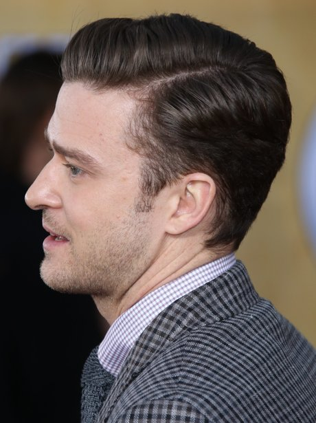 31 photos of justin timberlakes changing hair through the years justin timberlake with side parting in his hair urmus Choice Image