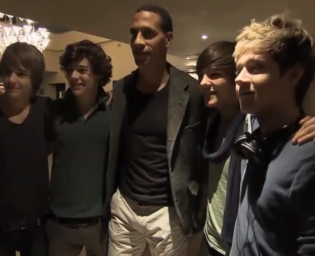one direction meet rio ferdinand