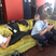 Image 8: The Wanted on their phones in LA