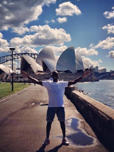 Tinie Tempah in Sydney