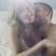 Image 7: Calvin Harris and Ellie Goulding cuddling in bed