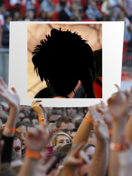 David Bowie silhouette