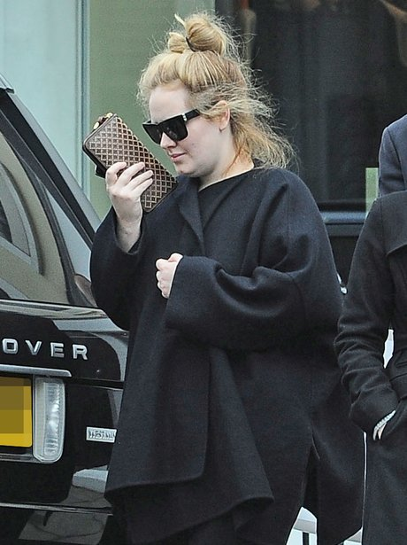 Adele is spotted shopping in Notting Hill