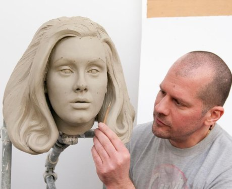 Adele Waxwork mould