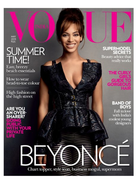 Beyonce Vogue India April 2013