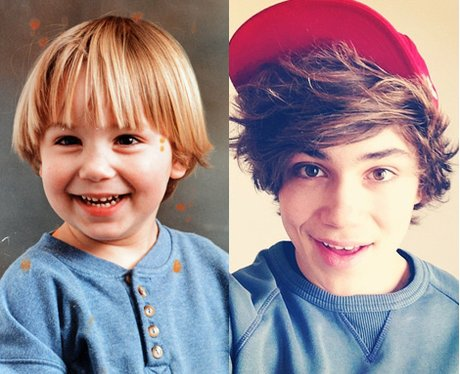 George Union J baby picture