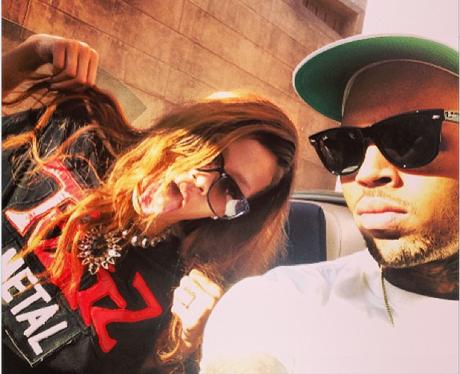 Rihanna and Chris Brown 2013