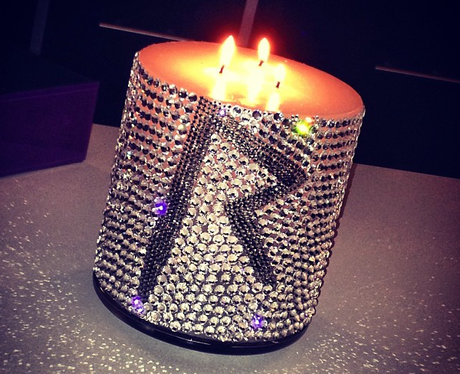 Rihanna Candle Instagram