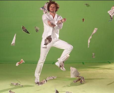 Jay McGuinness doing Gangnam Style