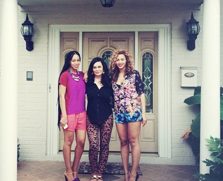 beyonce and her family