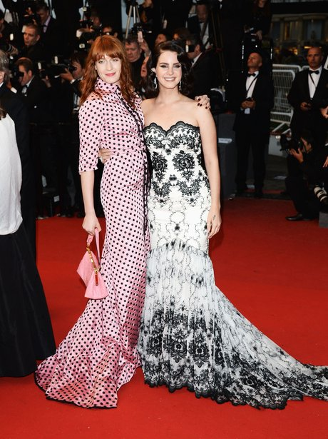 Florence Welch and Lana Del Ray at the cannes Film Festival