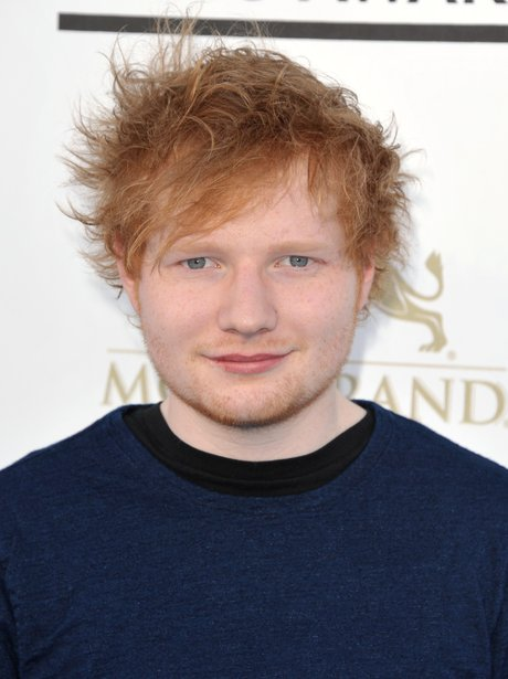 Ed Sheeran at the Billboard Music Awards 2013