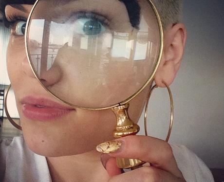 Jessie J Magnifying Glass