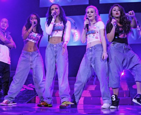 Little Mix perform on their tour
