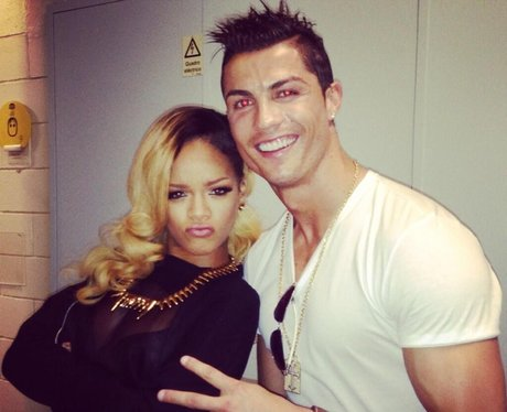 Rihanna and Ronaldo