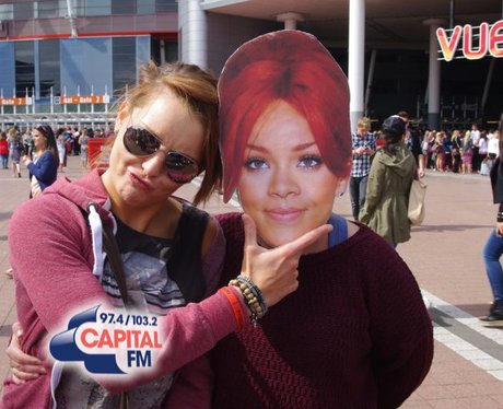 #RihannaInCardiff for her 2013 Diamond's World Tou