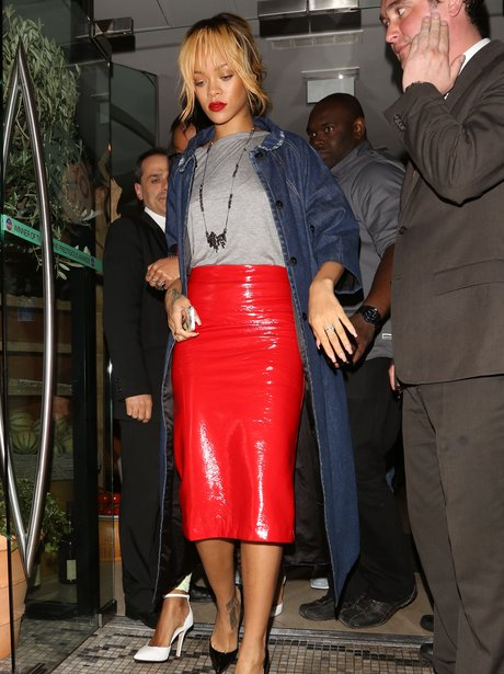 Rihanna in Manchester