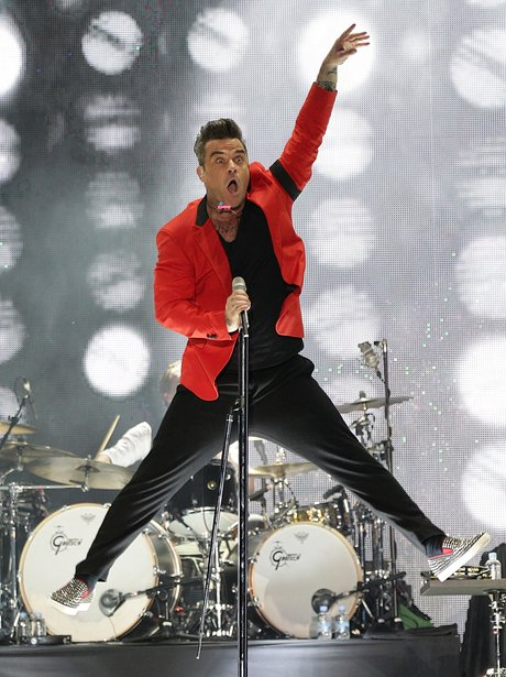Robbie Williams Summertime Ball 2013