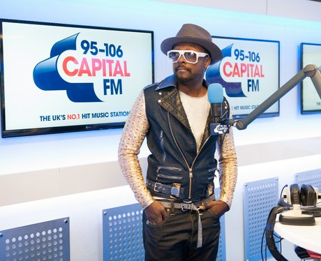 Will.i.am Backstage At The Summertime Ball 2013