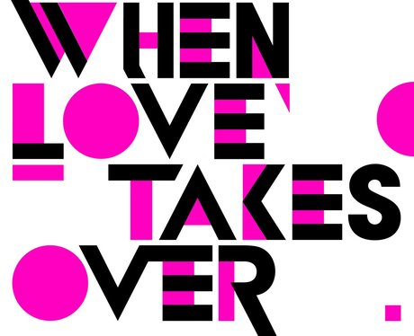 David Guetta When Loves Takes Over single cover