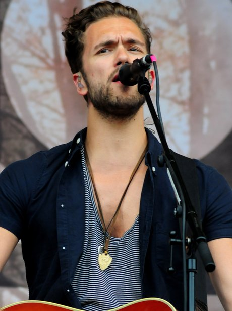 Lawson on stage at T in the Park 2013