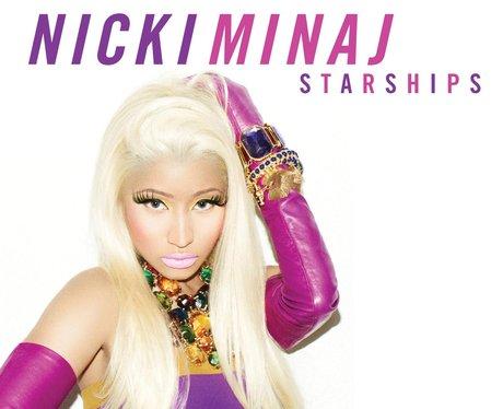 Nicki Minaj Starships single cover