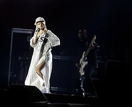 Rihanna live in Denmark