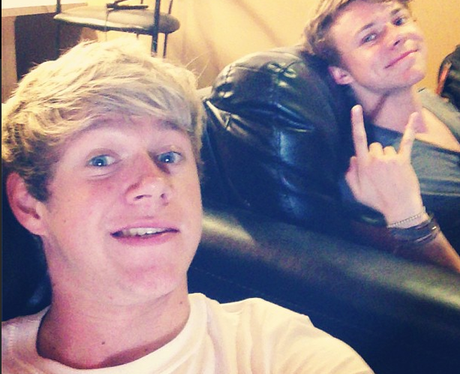 Niall Horan selfie