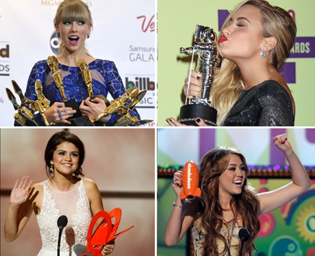 taylor swift demi lovato selena gomez and miley cyrus