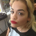 Image 1: Rita Ora shows off her red pout