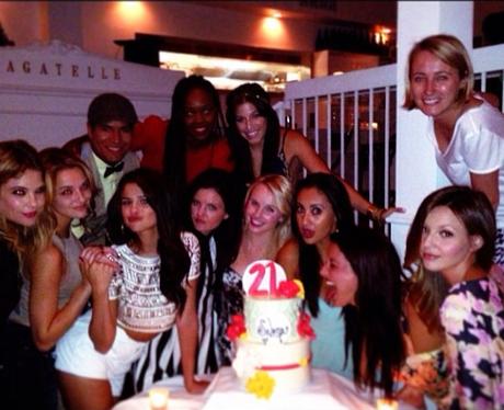 Selena Gomez celebrates her birthday