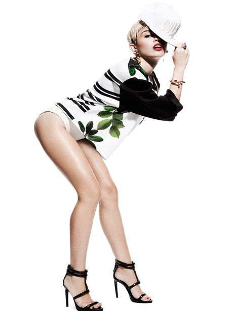 Miley Cyrus in Notion Magazine