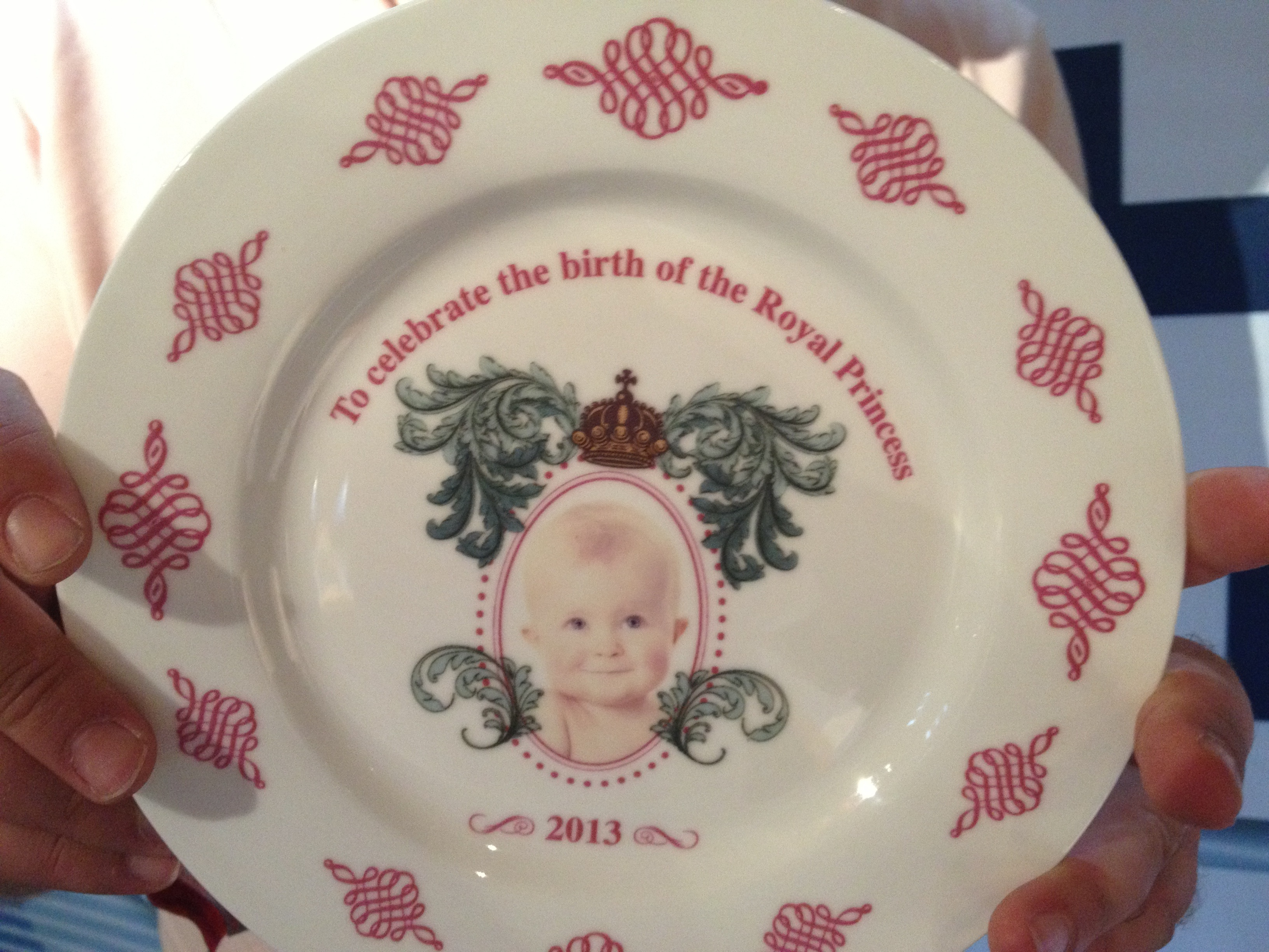 Royal Princess Plate