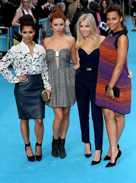 The Saturdays on the red carpet