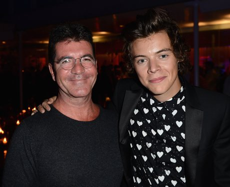Harry Styles and Simon Cowell One Direction after