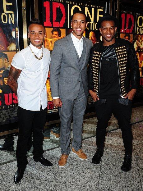 JLS attend One Direction film premiere