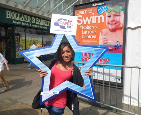 Capital FM went along to the Bolton Food and Drink