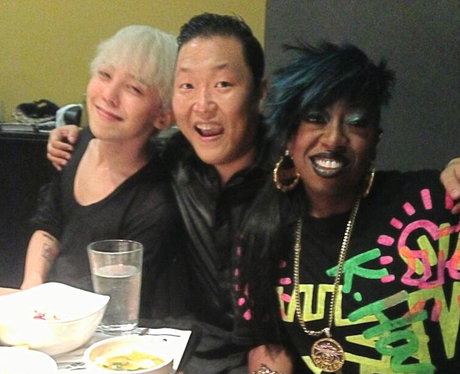 PSY and Missy Elliot
