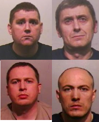 Four men jailed over Gateshead robbery