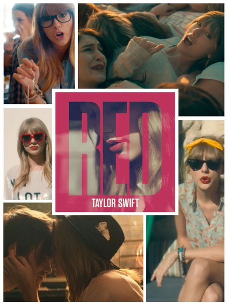 Taylor Swift Red Singles