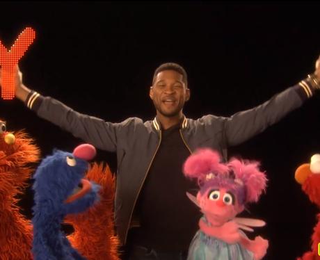 Usher On Sesame Street