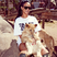 Image 5: Rihanna at the zoo