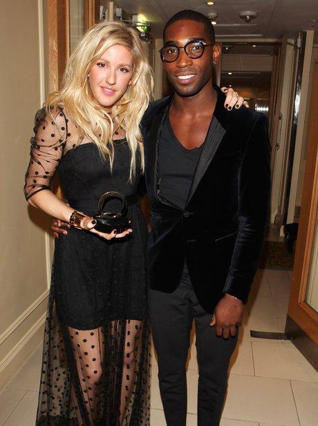 Ellie Goulding and Tinie Tempah Q Awards 2013