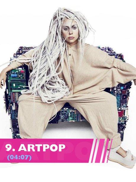 Lady Gaga Artpop song lyrics