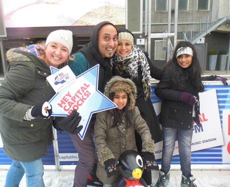 Spinningfields Ice Rink 23/11/2013